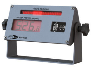 MD74RDI/W Weatherproof Digital Rudder Angle Indicator