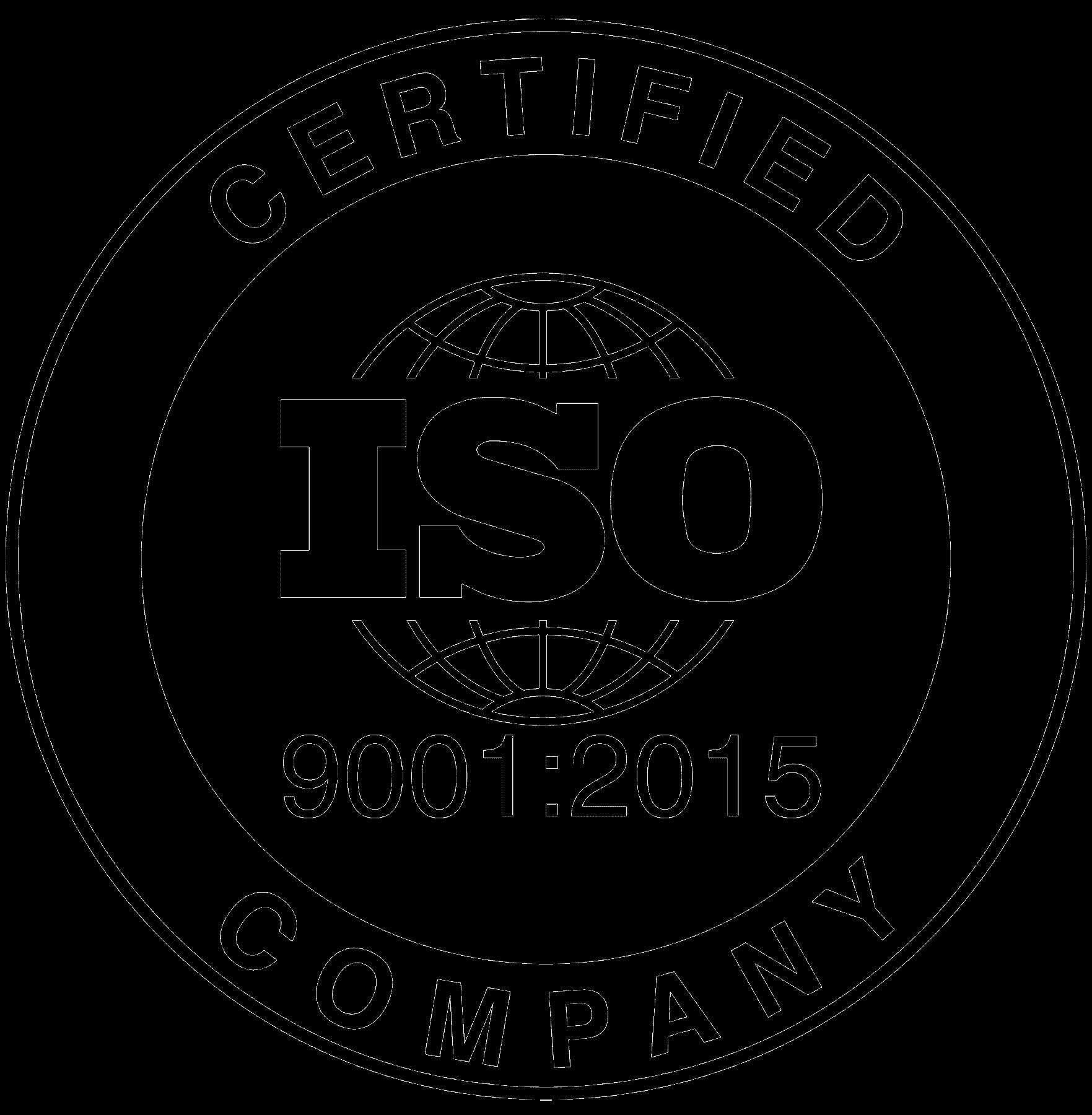 ISO9001 2015 Certified Logo