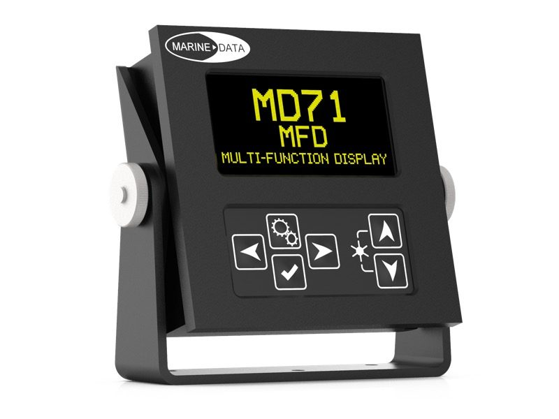 MD71MFD Digital Multi-Function Display