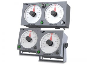 MD310TS Emergency Dual Rudder Angle Telegraph System