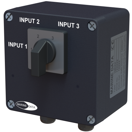 MD92/3 3 Way Data Changeover Switch