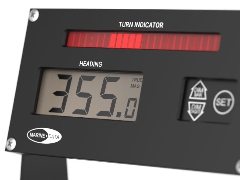 MD74HR Digital Compass Repeater Display