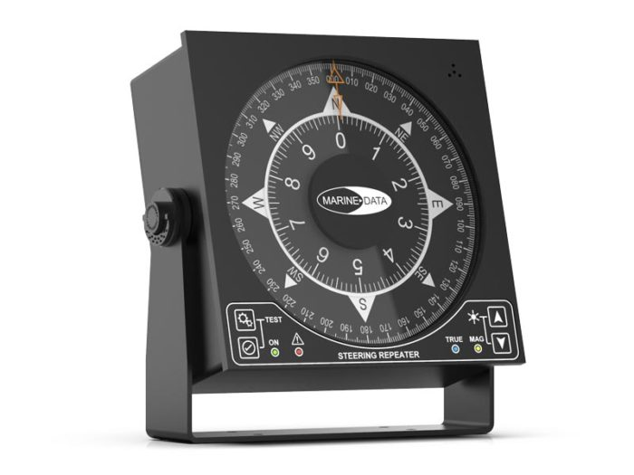 MD68HR Large Dual Scale Steering Repeater Display