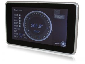 MD203MFD Multifunction Display for GNSS Compass